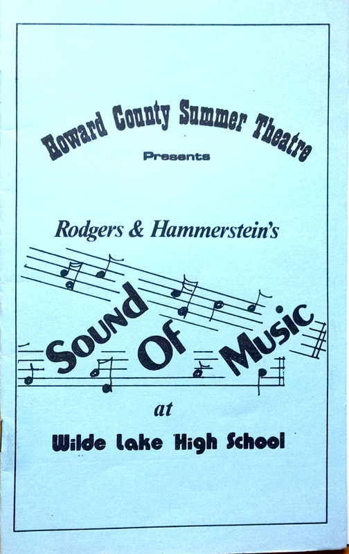 The Sound of Music 1984 - Howard County Summer Theatre!